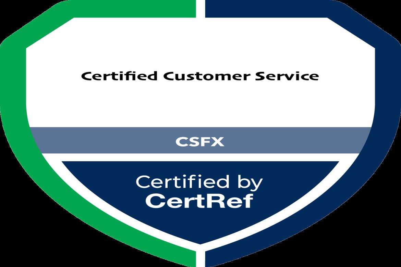 Certified Customer Service